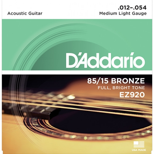 ACOUSTIC GUITAR STRING FRETTED EZ920 (012-054)