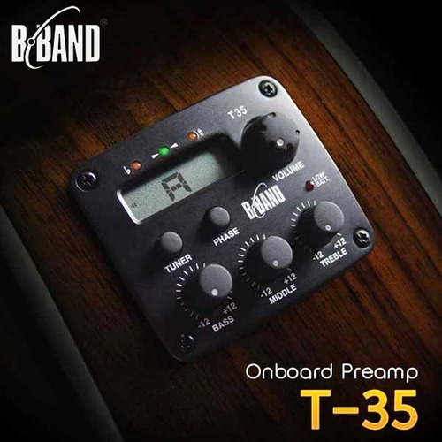 B-Band T35 3-band EQ with Tuner