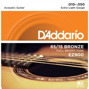 ACOUSTIC GUITAR STRING FRETTED EZ900 (010-050)